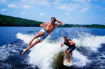Wake Surf Dive